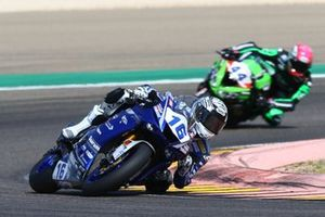 Jules Cluzel, GMT94 Yamaha, Lucas Mahias, Kawasaki Puccetti Racing