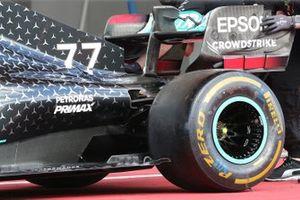 Mercedes F1 W11 Rear Wing detail