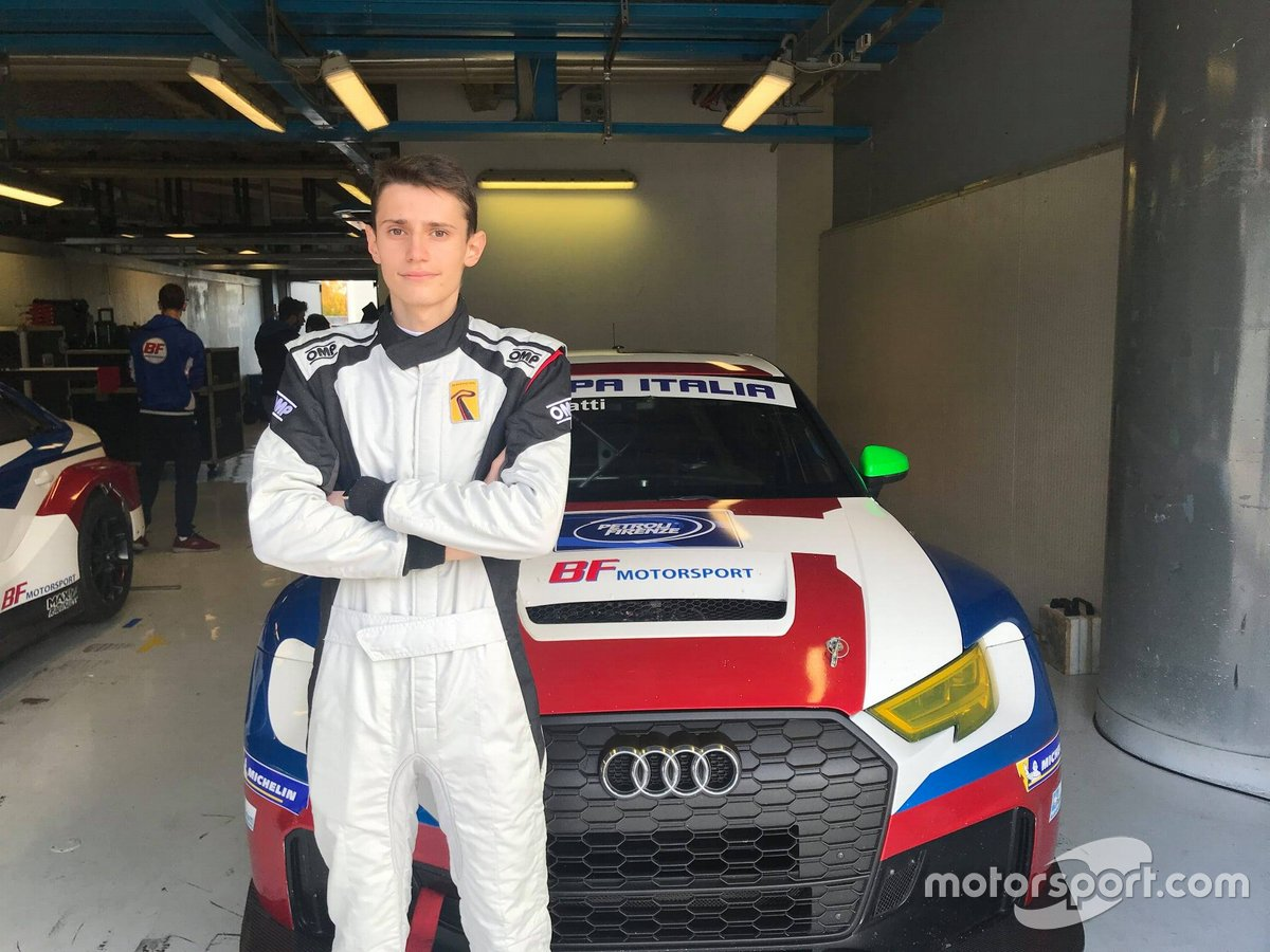Luca DI Gravina, BF Motorsport, Audi RS 3 LMS TCR