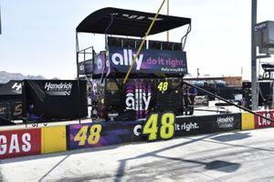 #48: Jimmie Johnson, Hendrick Motorsports, Chevrolet Camaro Ally inspired by Danny Koker