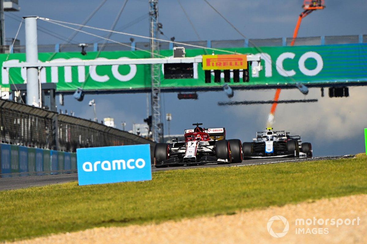 Кими Райкконен, Alfa Romeo Racing C39, Николя Латифи, Williams FW43