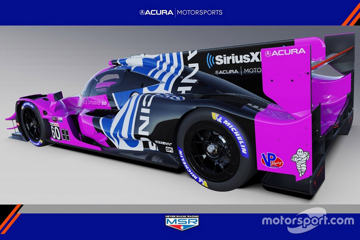2021 Acura ARX-05 Meyer Shank Racing