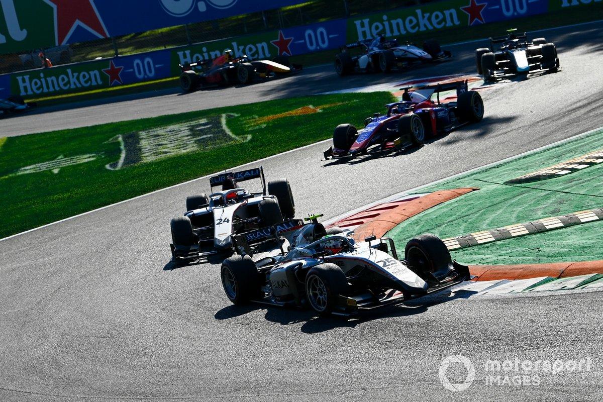 Luca Ghiotto, Hitech Grand Prix, Nikita Mazepin, Hitech Grand Prix