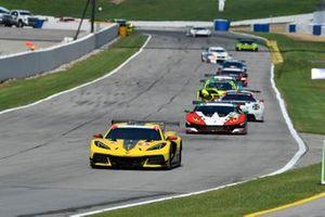 #3 Corvette Racing Corvette C8.R, GTLM: Antonio Garcia, Jordan Taylor, #48 Paul Miller Racing Lamborghini Huracan GT3, GTD: Bryan Sellers, Madison Snow, Corey Lewis