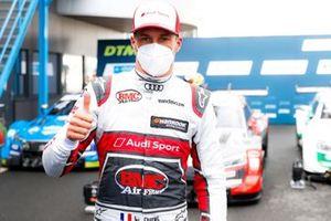 Pole sitter Loic Duval, Audi Sport Team Phoenix