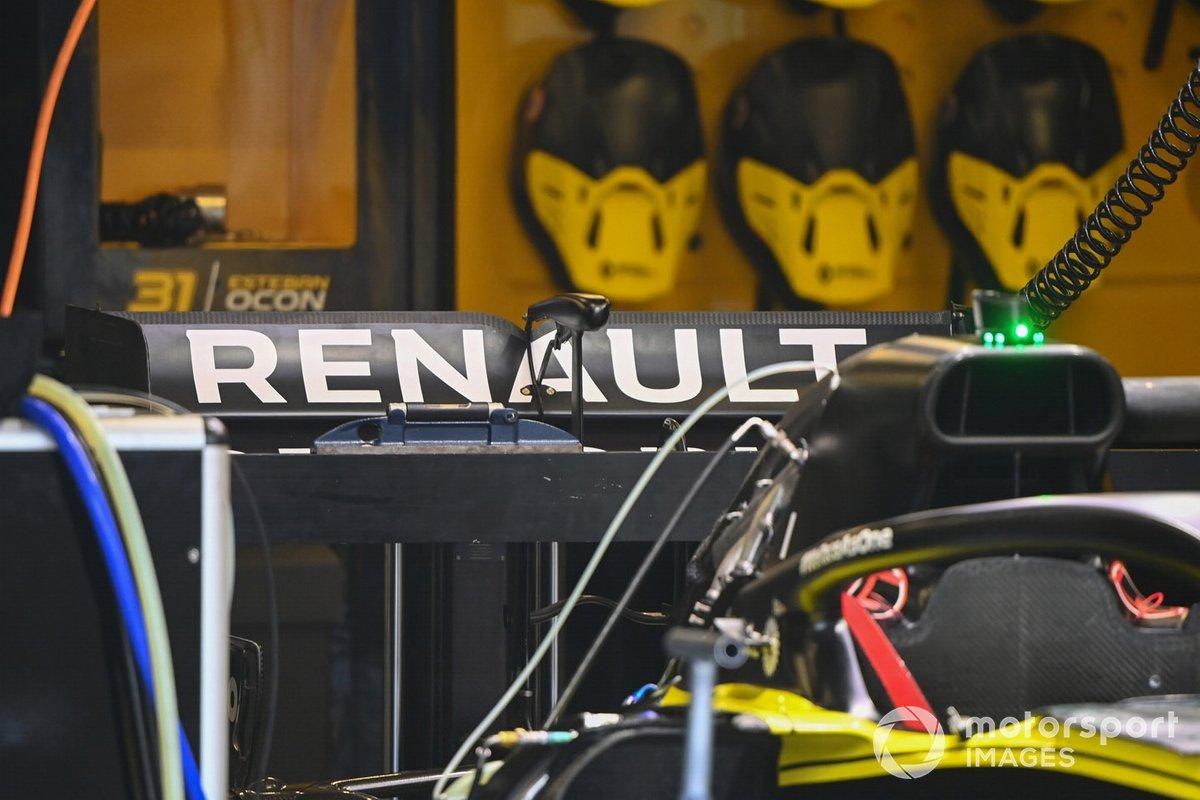 Detalle del alerón trasero del Renault