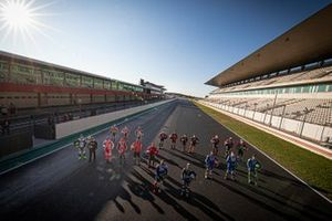 Portimao October Testing riders group photo