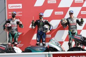 Fabio Quartararo, Petronas Yamaha SRT Maverick Vinales, Yamaha Factory Racing Franco Morbidelli, Petronas Yamaha SRT