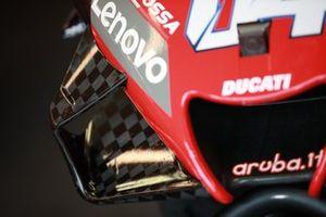 Bike detail of Andrea Dovizioso, Ducati Team