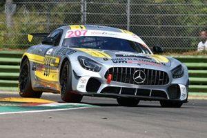 Mario Minella, Claudio Formenti, Filippo Manassero, Nova Race Event, Mercedes AMG GT4