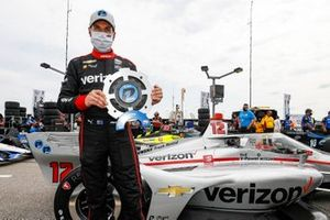 Will Power, Team Penske Chevrolet, in pole position per Gara 1