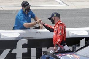 Justin Allgaier, JR Motorsports, Chevrolet Camaro FFA, wins the Drydene 200