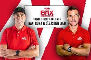 Sebastien Loeb and Nani Roma, BRX