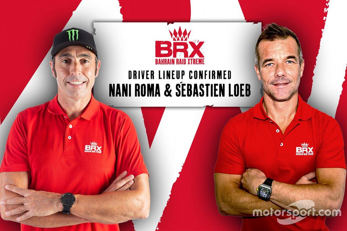 Sebastien Loeb y Nani Roma, BRX