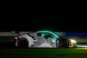 #30 Team Hardpoint Audi R8 LMS GT3, GTD: Rob Ferriol, Markus Winkelhock, Andrew Davis