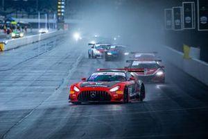 #04 DXDT Racing Mercedes-AMG GT3: George Kurtz, Colin Braun, Ben Keating