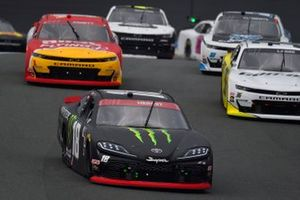 Riley Herbst, Joe Gibbs Racing, Toyota Supra Monster Energy, Michael Annett, JR Motorsports, Chevrolet Camaro Pilot Flying J