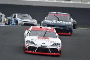 Brandon Jones, Joe Gibbs Racing, Toyota Supra Toyota Service Centers, Ryan Sieg, RSS Racing, Chevrolet Camaro CMRRoofing.com