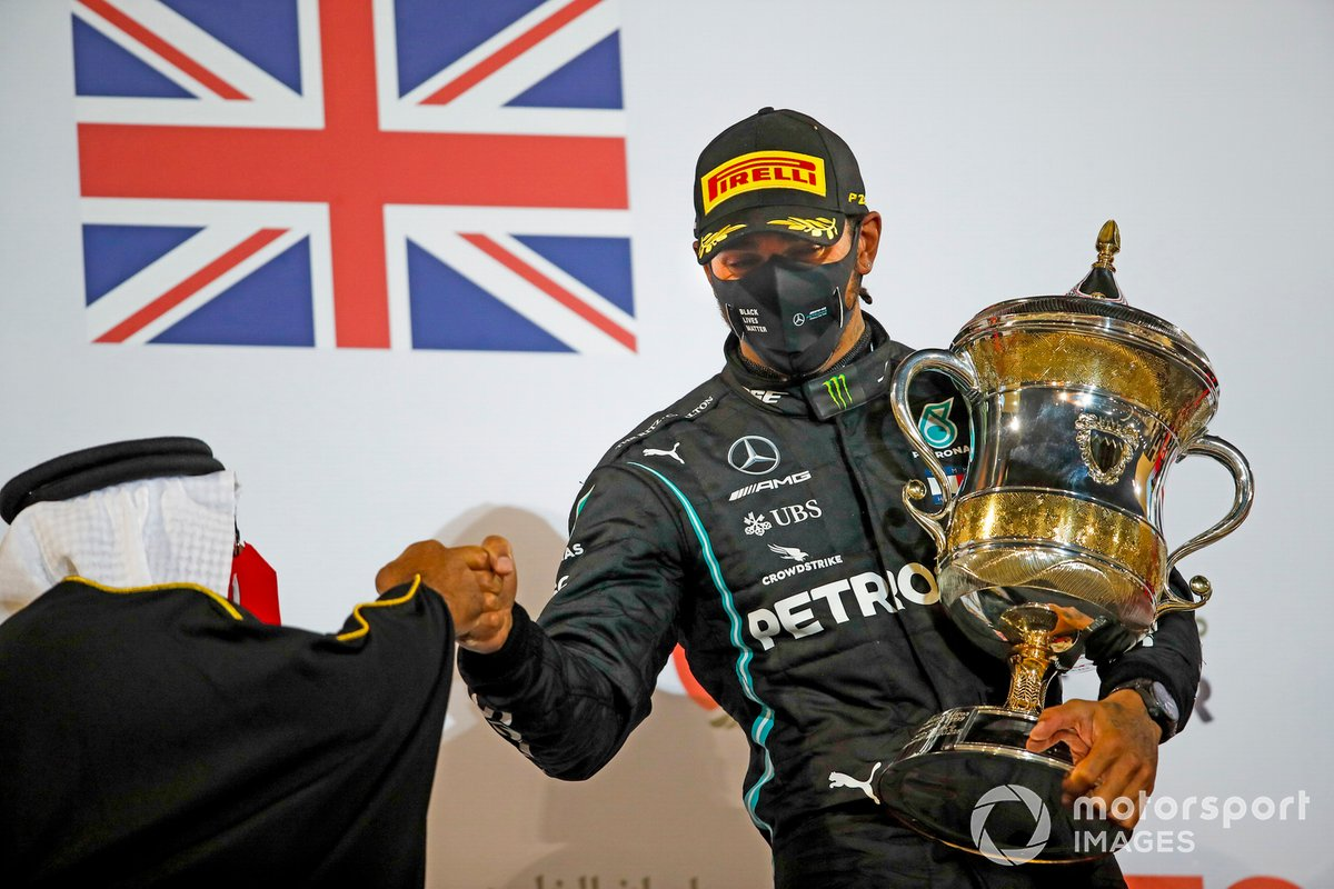 Más victorias (95): Lewis Hamilton, Mercedes-AMG F1 (GP de Bahrein)