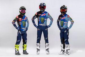 Jeremy Seewer, Ben Watson e Glenn Coldenhoff, Monster Energy Yamaha Factory Racing