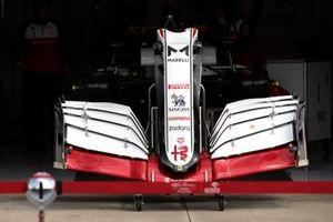 Alfa Romeo Racing C41 fromt wing