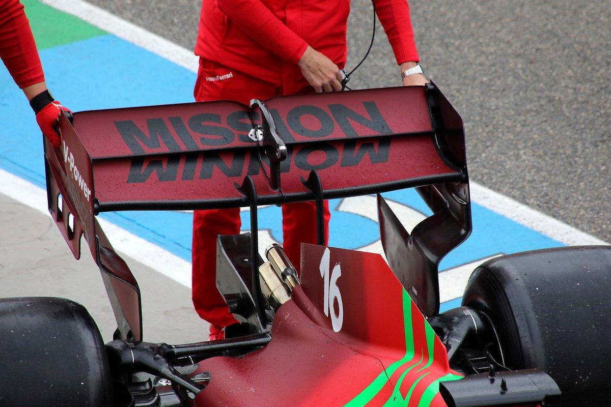 フェラーリSF21 リヤウイング