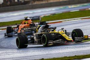Daniel Ricciardo, Renault F1 Team R.S.20, Lando Norris, McLaren MCL35
