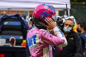 Lance Stroll, Racing Point, on the grid