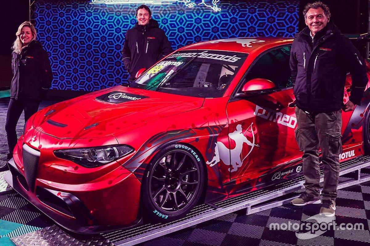 Michela Cerruti, Jean-Karl Vernay, Mario Ferraris, Alfa Romeo Giulia ETCR, Romeo Ferraris