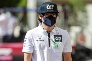 Yuki Tsunoda, AlphaTauri Test Driver