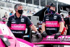 Jack Harvey, Meyer Shank Racing Honda crew members