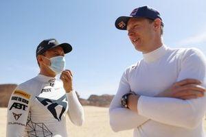 Mattias Ekstrom, ABT CUPRA XE, Johan Kristoffersson, Rosberg X Racing