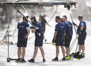 Williams F1 team engineers