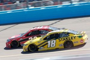 Christopher Bell, Joe Gibbs Racing, Toyota Camry Rheem, Kyle Busch, Joe Gibbs Racing, Toyota Camry STANLEY