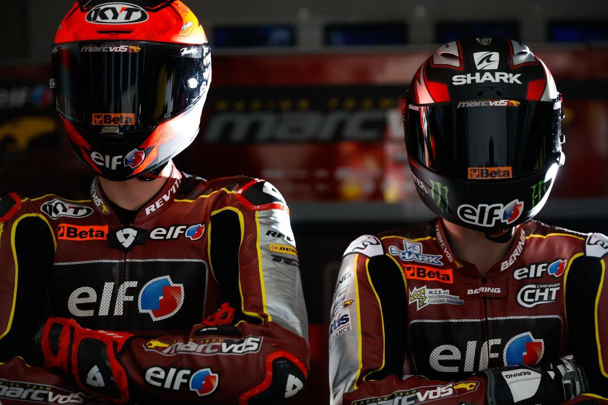 Sam Lowes y Augusto Fernandez, Marc VDS Racing