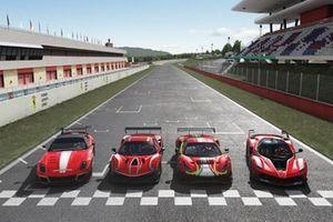 Los coches de Ferrari eSport Series