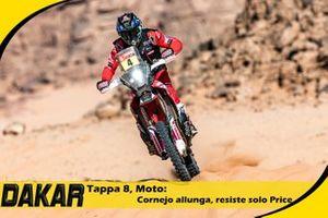 Cover Video Dakar, Moto 8° tappa