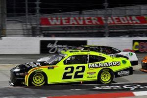 Austin Cindric, Team Penske, Ford Mustang Menards/Richmond, A.J. Allmendinger, Kaulig Racing, Chevrolet Camaro Ellsworth Advisors