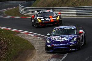 #949 Porsche 718 Cayman GT4 CS: Stefan Beyer, Heiko Eichenberg, Torsten Kratz