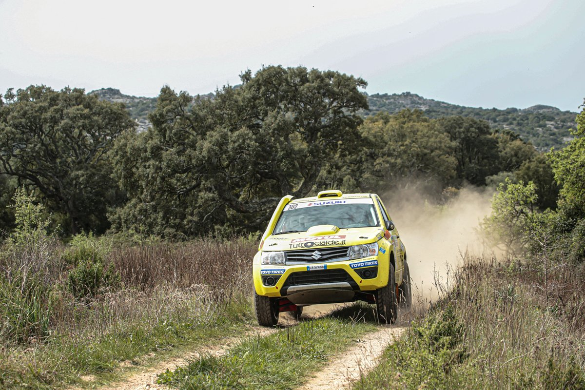 Lorenzo Codecà, Mauro Toffoli, Suzuki Motorsport, Emmetre Racing, Suzuki Grand Vitara 1.6
