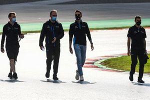 George Russell, Williams Racing, recorre la pista
