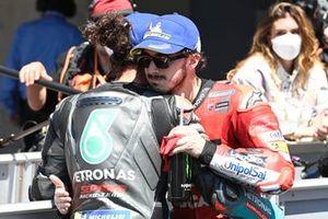 Francesco Bagnaia, Ducati Team, Franco Morbidelli, Petronas Yamaha SRT