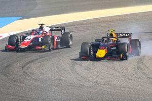 Juri Vips, Hitech Grand Prix et Bent Viscaal, Trident
