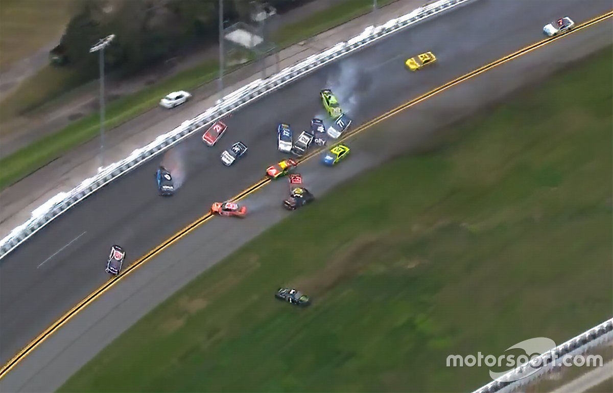 Vista del Big One en Daytona 500