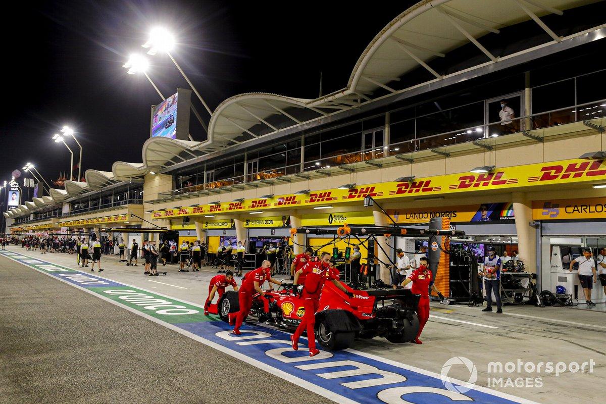 Charles Leclerc, Ferrari SF1000, ritorna nel garage