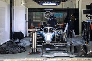 Mercedes-Benz EQ Formula E Team garaje