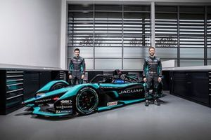 Mitch Evans and Sam Bird, Jaguar Racing, Jaguar I-Type 5