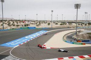 Roy Nissany, Williams FW43, Charles Leclerc, Ferrari SF1000