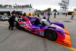 #52 PR1 Mathiasen Motorsports ORECA LMP2 07, LMP2: Mikkel Jensen, Ben Keating, Scott Huffaker, Nicolas Lapierre