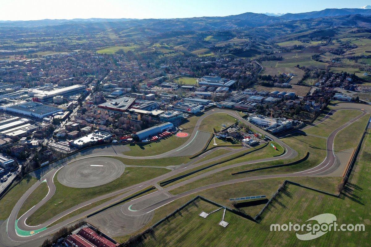 Ferrari test track in Fiorano